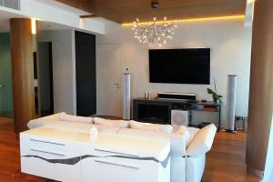 Управление освещением в квартире в Малой Охте