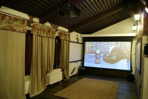 Персональный кинозал в Агалатово