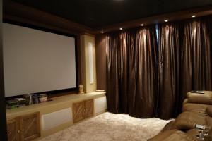 Персональный кинозал в Песочном