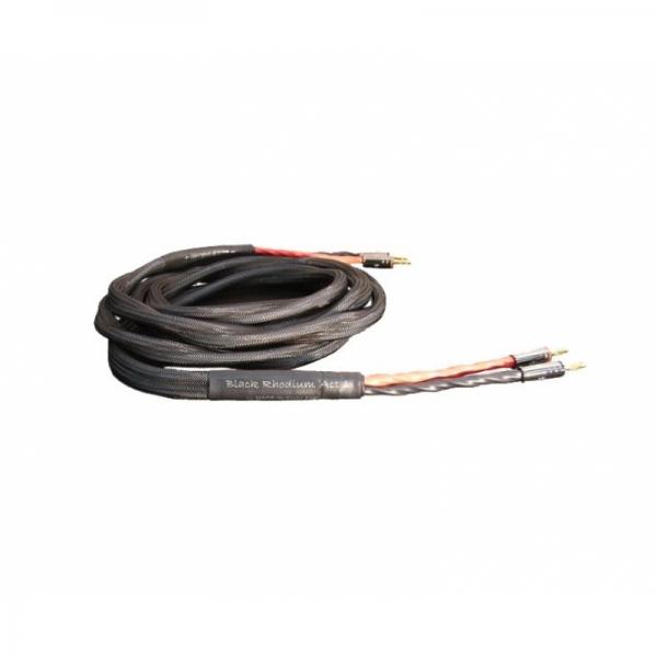 black rhodium act1 acoustic bi-wire 2.5m