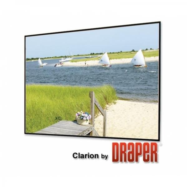 draper clarion 3:4 305/120'' hidef grey