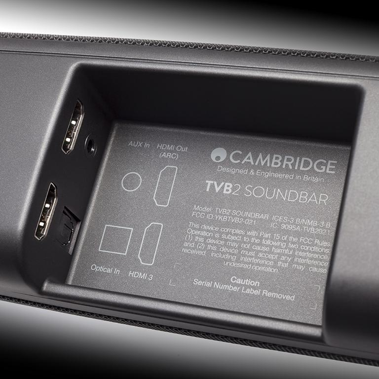 Cambridge Audio TVB2 разъемы
